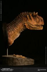 Museum Series: Female Carnotaurus Bust Dry Gobi Version